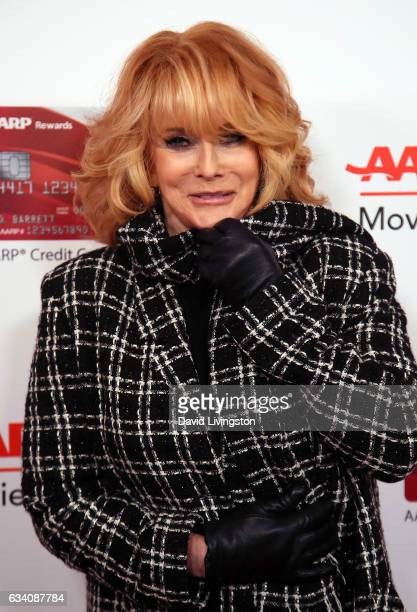 Actress AnnMargret attends AARP's 16th Annual Movies for Grownups Awards at the Beverly Wilshire Four Seasons Hotel on February 6 2017 in Beverly...