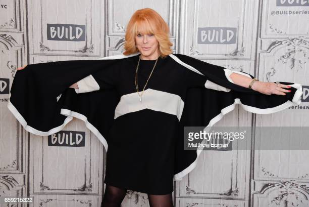 Actress AnnMargret attends Build Series Presents Alan Arkin Michael Caine Morgan Freeman and AnnMargret discussing 'Going In Style' at Build Studio...