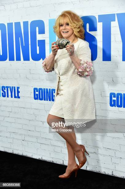 Actress AnnMargret attends the Going In Style New York Premiere at SVA Theatre on March 30 2017 in New York City
