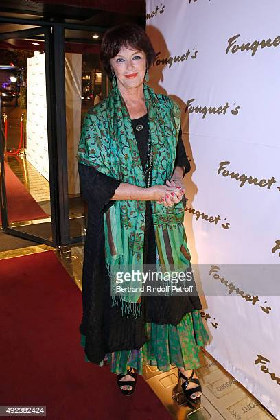 Actress Anny Duperey attends the Fouquet's Paris Restaurant presents its Menu 'Twisted' by the Chef Pierre Gagnaire. Held at Le Fouquet's on October...