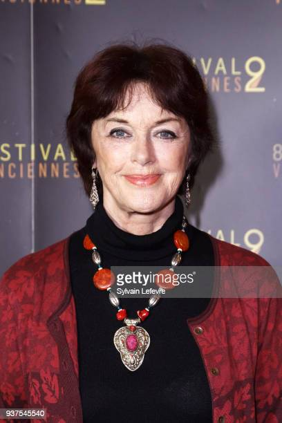 Actress Anny Duperey attends the photocall before the closing ceremony of Valenciennes Film Festival on March 24 2018 in Valenciennes France