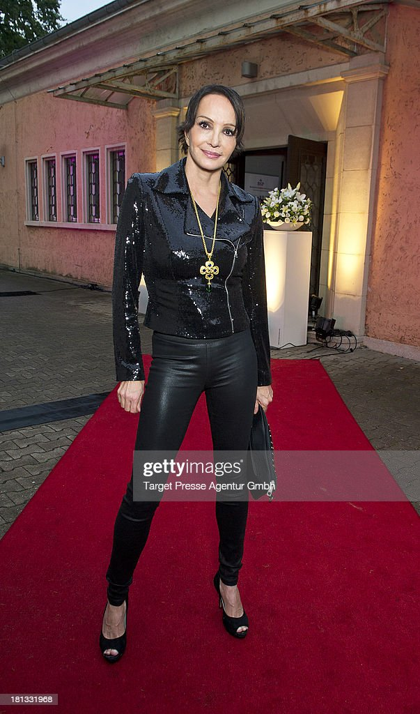 Actress Anouschka Renzi attends the 'Fest der Eleganz und Intelligenz' at Villa Siemens on September 20, 2013 in Berlin, Germany.