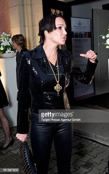 Actress Anouschka Renzi attends the 'Fest der Eleganz und Intelligenz' at Villa Siemens on September 20 2013 in Berlin Germany