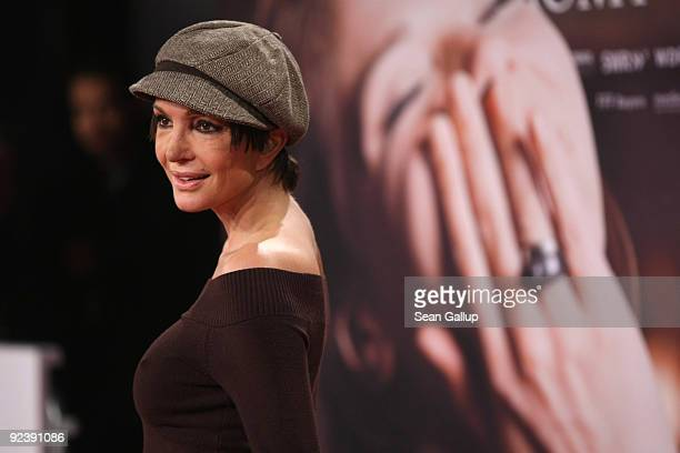 Actress Anouschka Renzi attends the premiere of Romy at the Delphi cinema on October 27 2009 in Berlin Germany