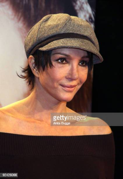 Actress Anouschka Renzi attends the premiere of 'Romy' at the Delphi cinema on October 27, 2009 in Berlin, Germany.