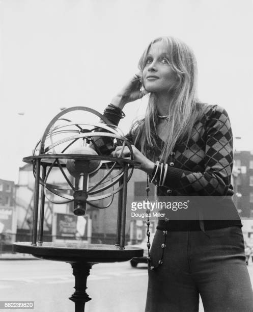 Actress Anouska Hempel at the Thames Television studios on Euston Road London where she is filming the new television series 'Zodiac' 26th September...
