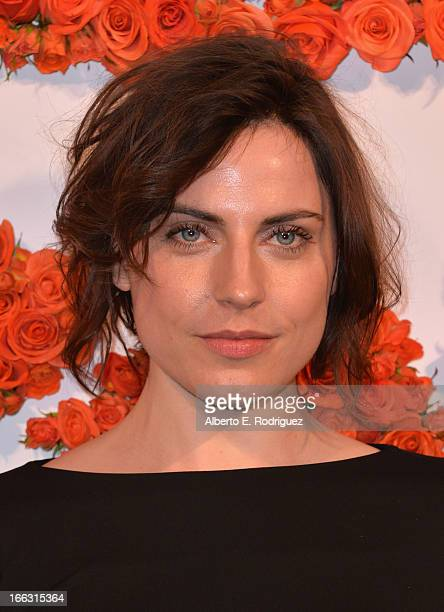 Actress Antje Traue attends the 3rd Annual Coach Evening to benefit Children's Defense Fund at Bad Robot on April 10 2013 in Santa Monica California