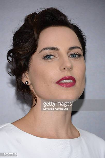 Actress Antje Traue attends the Man Of Steel world premiere at Alice Tully Hall at Lincoln Center on June 10 2013 in New York City