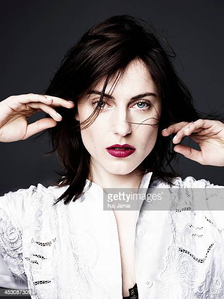 Actress Antje Traue is photographed for Bullett on April 16, 2013 in Los Angeles, California.