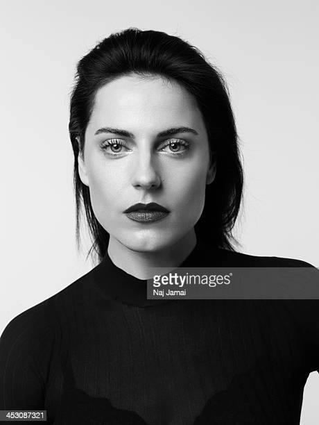 Actress Antje Traue is photographed for Bullett on April 16, 2013 in Los Angeles, California. PUBLISHED IMAGE.