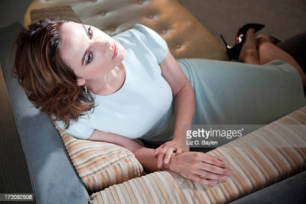 Actress Antje Traue is photographed for Los Angeles Times on June 7, 2013 in West Hollywood, California. PUBLISHED IMAGE. CREDIT MUST READ: Liz...