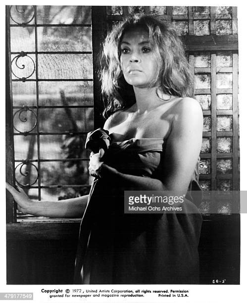 Actress Antoinette Bower in a scene from the Scifi movie 'Superbeast' circa 1972