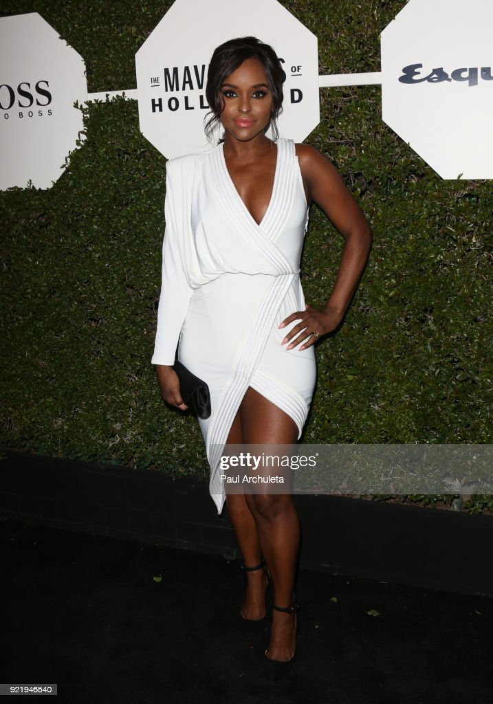 Actress Antoinette Robertson attends Esquire's annual 'Maverick's Of Hollywood' event at Sunset Tower on February 20, 2018 in Los Angeles, California.