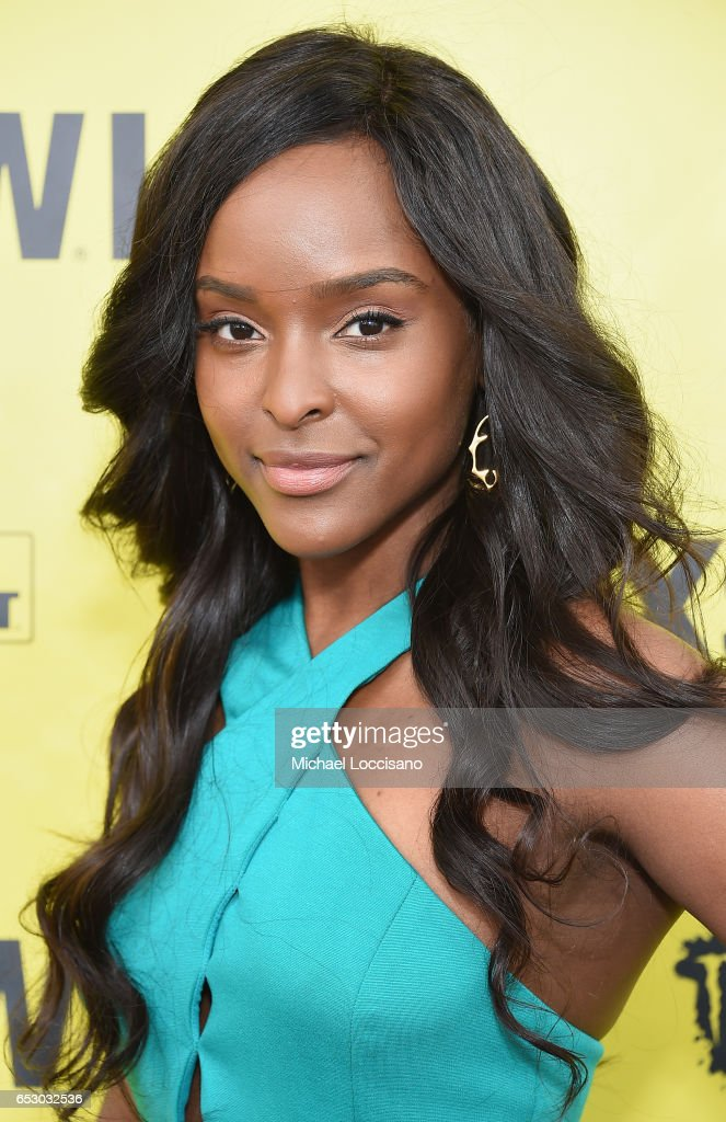 Actress Antoinette Robertson attends the 'Dear White People' premiere during 2017 SXSW Conference and Festivals at the ZACH Theatre on March 13, 2017 in Austin, Texas.