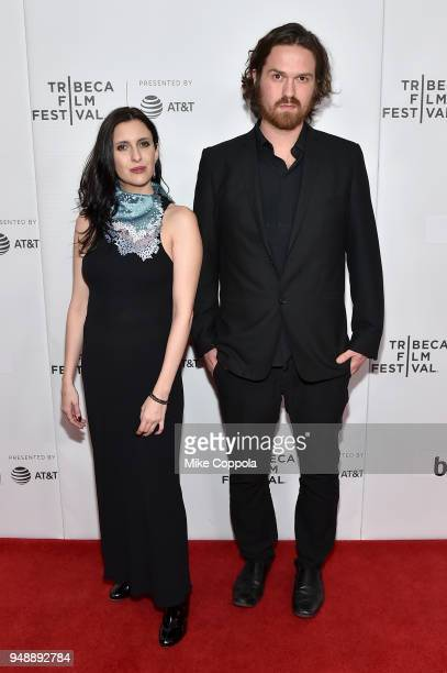 Actress Antonella Costa and director Che Sandoval attend a screening of Dry Martina during the 2018 Tribeca Film Festival at Cinepolis Chelsea on...
