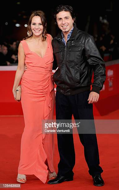 Actress Antonella Ponziani and guest attend the 'La Scuola E Finita' Premiere during the 5th International Rome Film Festival at Auditorium Parco...