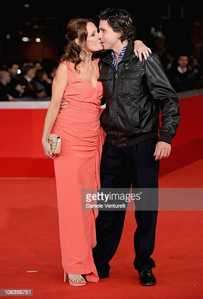 Actress Antonella Ponziani and guest attends the 'La Scuola E Finita' Premiere during the 5th International Rome Film Festival at Auditorium Parco...