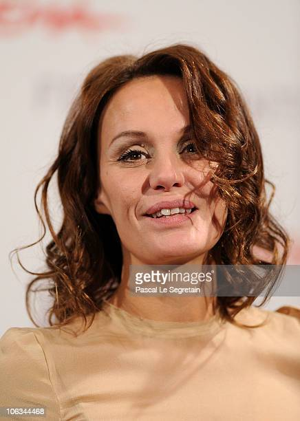 Actress Antonella Ponziani attends the 'La Scuola E Finita' Photocall during the 5th International Rome Film Festival at the Auditorium Parco Della...