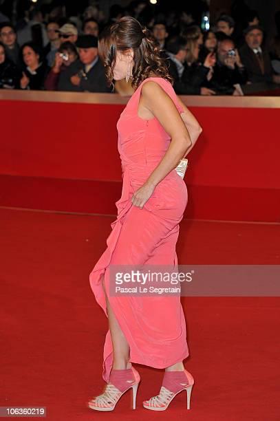 Actress Antonella Ponziani attends the 'La Scuola E Finita' premiere during The 5th International Rome Film Festival at Auditorium Parco Della Musica...