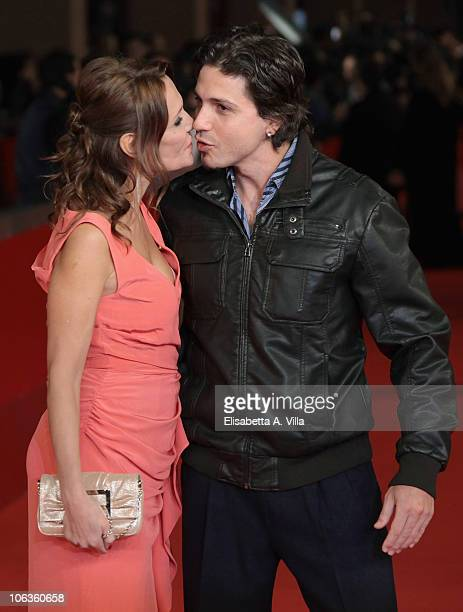 Actress Antonella Ponziani attends the 'La Scuola E Finita' premiere during The 5th International Rome Film Festival at Auditorium Parco Della Musica...
