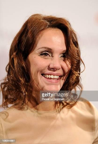 Actress Antonella Ponziani poses at the 'La Scuola E Finita' photocall during the 5th International Rome Film Festival at the Auditorium Parco Della...