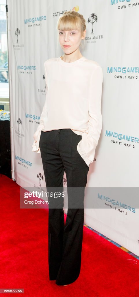 """Fathom Events And Terra Mater Film Studios Premiere Event For """"MindGamers: One Thousand Minds Connected Live"""" - Red Carpet"""