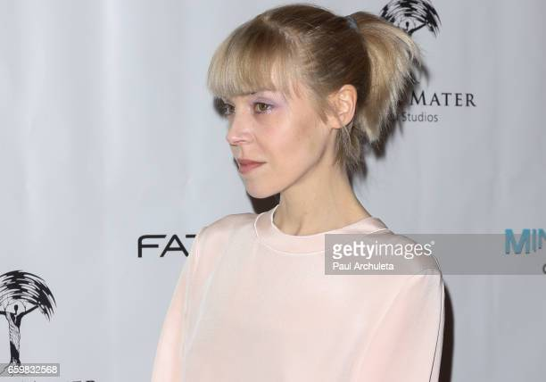 Actress Antonia CampbellHughes attends the premiere for MindGamers One Thousand Minds Connected Live at Regal LA Live Stadium 14 on March 28 2017 in...