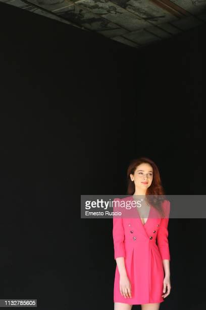 Actress Antonia Fotaras attends the photocall for Il Nome Della Rosa at Sala Arazzi on February 28 2019 in Rome Italy