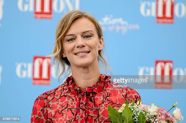 Actress Antonia Liskova attends Giffoni Film Festival photocall Day 2 on July 16 2016 in Giffoni Valle PianaSalerno Italy