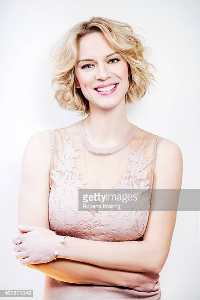 Actress Antonia Liskova is photographed for Self Assignment on January 27 2015 in Rome Italy
