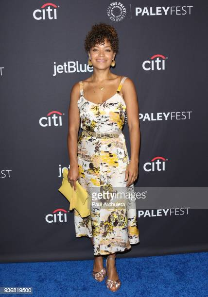 Actress Antonia Thomas attends ABC's screening of 'The Good Doctor' at the 2018 PaleyFest Los Angeles at The Dolby Theatre on March 22 2018 in...