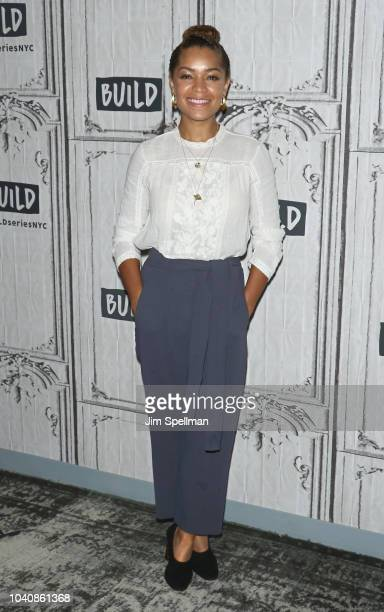 Actress Antonia Thomas attends the Build Series to discuss The Good Doctor at Build Studio on September 26 2018 in New York City