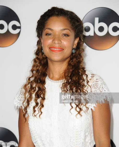 Actress Antonia Thomas attends the Disney ABC Television Group TCA summer press tour at The Beverly Hilton Hotel on August 6 2017 in Beverly Hills...