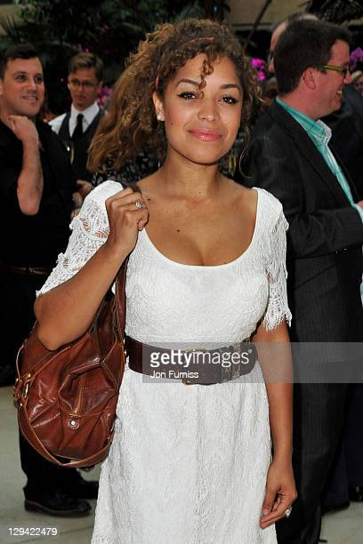 Actress Antonia Thomas attends the nominees party for 'The Philips British Academy Television and British Academy Television Craft Awards' at Coutts...