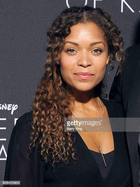 Actress Antonia Thomas attends the premiere of Disney's 'Queen Of Katwe' at the El Capitan Theatre on September 20 2016 in Hollywood California