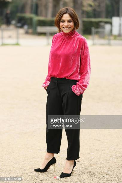 """Actress Antonia Truppo attends """"Copperman"""" photocall at Casa del Cinema on January 30, 2019 in Rome, Italy."""