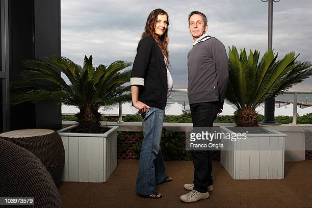 Actress Antonia Zegers and actor Alfredo Castro pose at the 'Post Mortem' portrait session during the 67th Venice Film Festival on September 6 2010...