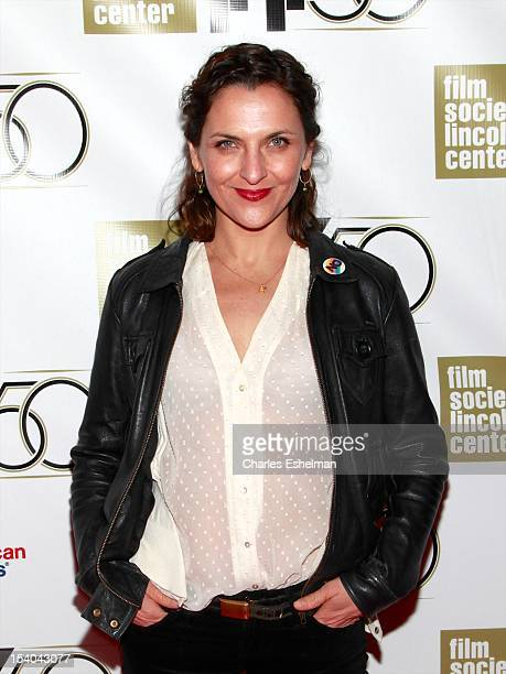Actress Antonia Zegers attends the 'No' Premiere During The 50th New York Film Festival at Alice Tully Hall on October 12 2012 in New York City