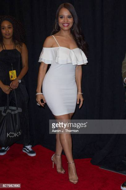 Actress Antonique Smith attends Black Girls Rock at New Jersey Performing Arts Center on August 5 2017 in Newark New Jersey