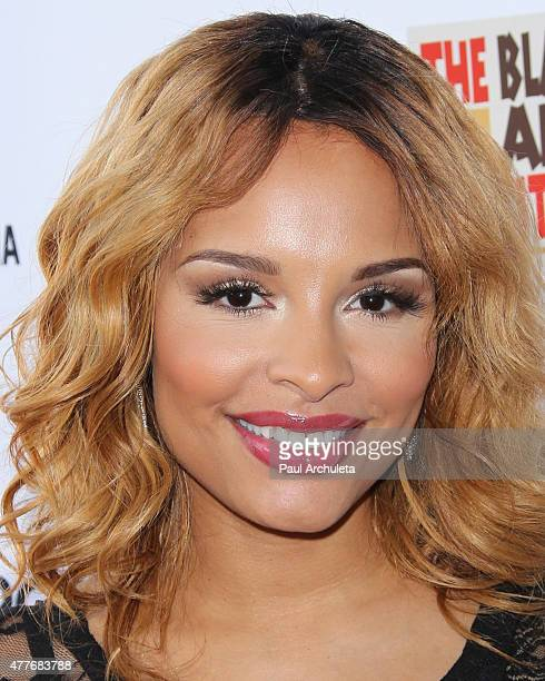 Actress Antonique Smith attends the Black AIDS Institutes 2015 Heroes In The Struggle gala reception and awards ceremony at The Directors Guild Of...