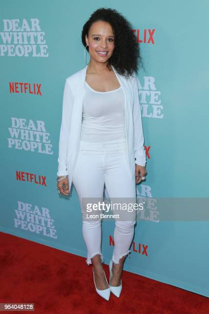Actress Antonique Smith attends the Screening Of Netflix's 'Dear White People' Season 2 Arrivals at ArcLight Cinemas on May 2 2018 in Hollywood...