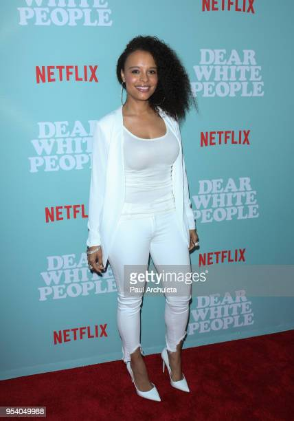 Actress Antonique Smith attends the screening of Netflix's 'Dear White People' season 2 at ArcLight Cinemas on May 2 2018 in Hollywood California