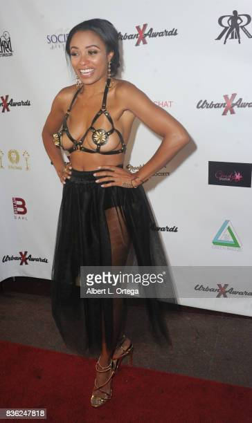 Actress Anya Ivy arrives for the 6th Urban X Awards held at Stars On Brand on August 20 2017 in Glendale California
