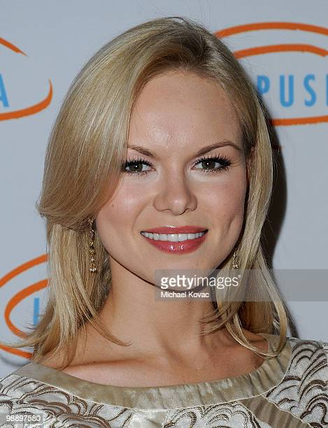 Actress Anya Monzikova attends the 10th Annual Lupus LA Orange Ball at the Beverly Wilshire Four Seasons Hotel on May 6 2010 in Beverly Hills...
