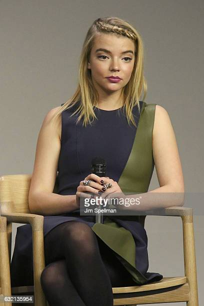 """Actress Anya Taylor Joy attends Meet the Actor to discuss """"Split"""" at Apple Store Soho on January 19, 2017 in New York City."""