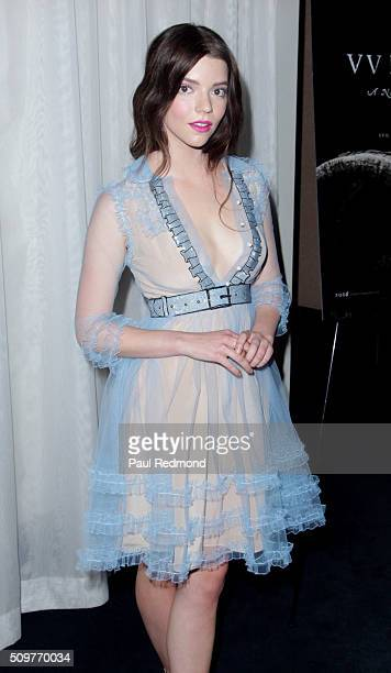 Actress Anya TaylorJoy arrives at the premiere of A24's The Witch at ArcLight Cinemas on February 11 2016 in Hollywood California