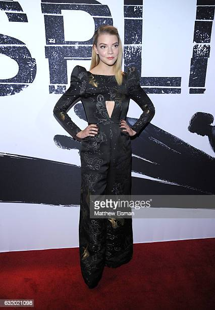 Actress Anya TaylorJoy attends Split New York Premiere at SVA Theater on January 18 2017 in New York City