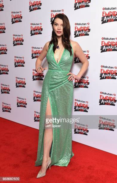 Actress Anya TaylorJoy attends the Rakuten TV EMPIRE Awards 2018 at The Roundhouse on March 18 2018 in London England