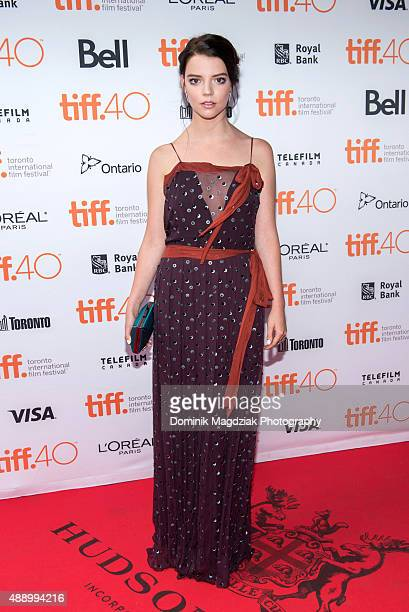 Actress Anya TaylorJoy attends 'The Witch' photo call during the 2015 Toronto International Film Festival held at Ryerson Theatre on September 18...