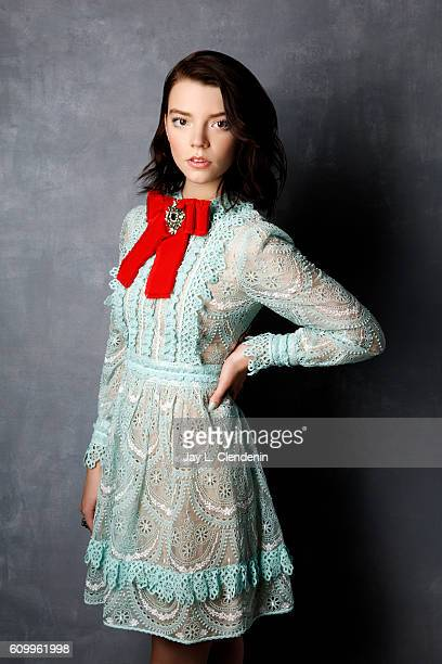 Actress Anya TaylorJoy from the film 'Barry' poses for a portraits at the Toronto International Film Festival for Los Angeles Times on September 10...